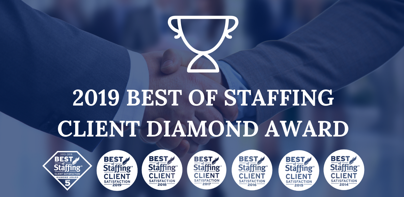 2019 Best of Staffing Client Diamond Award Winner