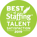2019 Best of Staffing Talent Award