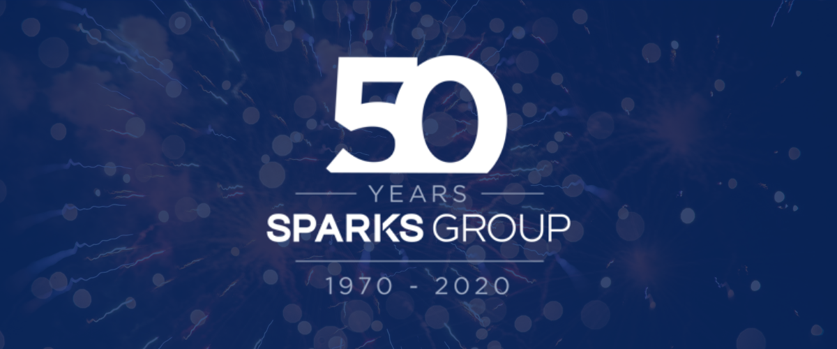 Sparks Group Celebrates 50 Years: A Half Century of Connecting Great Talent to Great Companies
