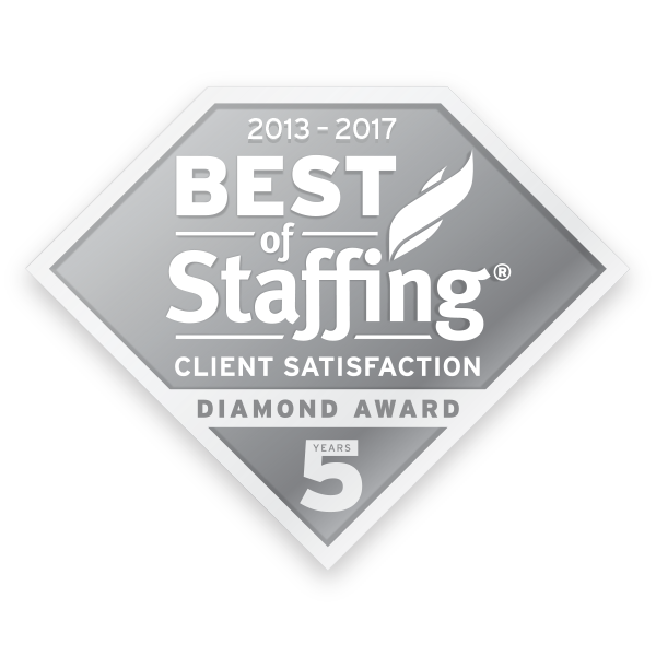 2017 Best of Staffing Diamond Award - Client Satisfaction