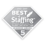 2017 Best of Staffing Diamond Award - Client Satisfaction