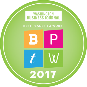 2017 Best Places to Work - Washington Business Journal