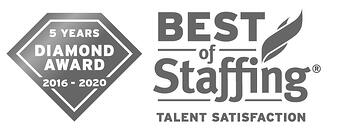 2020 Best of Staffing Diamond Award - Talent Satisfaction | Best Staffing Agencies in the U.S.