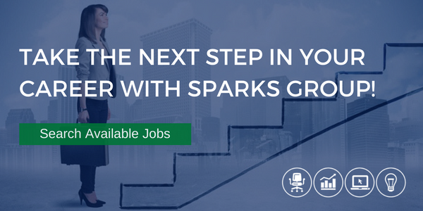 Take the next step in your career with Sparks Group!