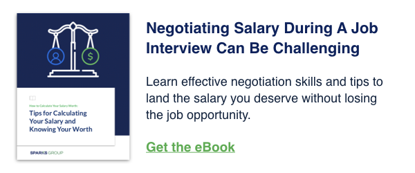 Get the eBook: The Art of Salary Negotiation: Tips for Calculating Your Salary And Knowing Your Worth